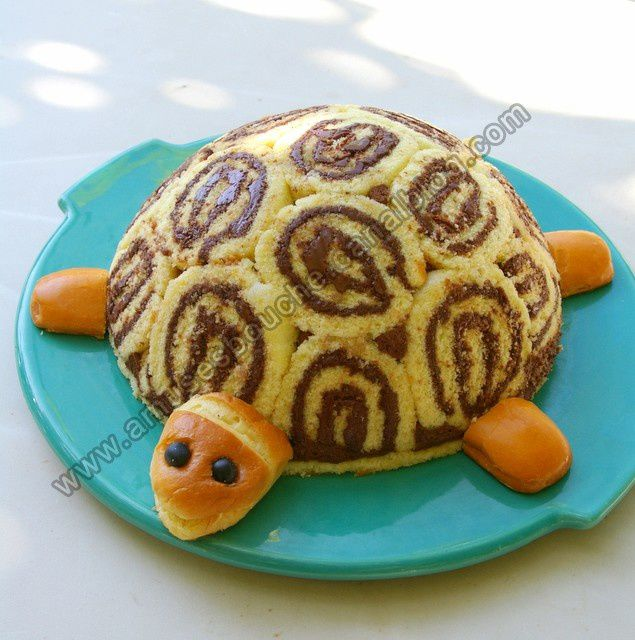 Gertrude la tortue amuses bouche - Gateau simple a faire ...
