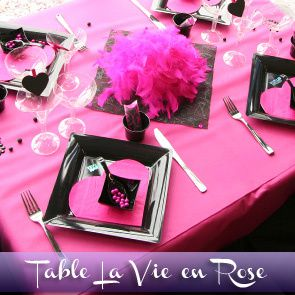 table rabattable cuisine paris deco table anniversaire 18 ans. Black Bedroom Furniture Sets. Home Design Ideas