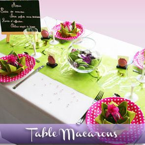 Sommaire des id es de d corations de tables d corations for Decoration theme gourmandise