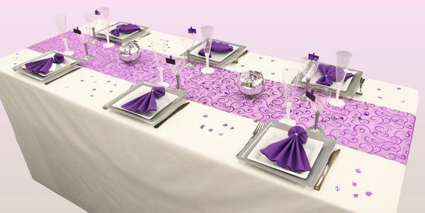 D coration de table anniversaire sp cial 20 ans - Decoration de table anniversaire 60 ans ...