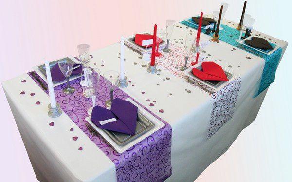 Decorations de table le blog d 39 articles - Decoration table st valentin ...