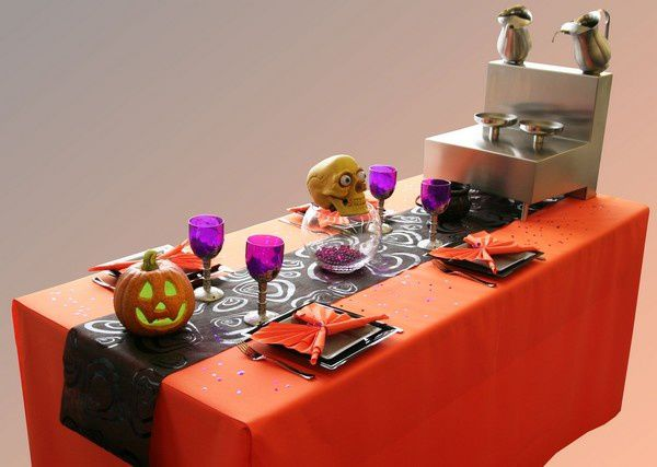 Une nouvelle d co de table pour halloween d corations for Decoration de table halloween