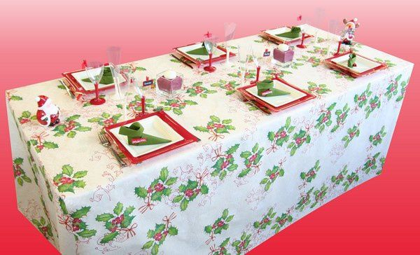 Le blog d 39 articles d coration accessoires de - Table de noel traditionnelle ...