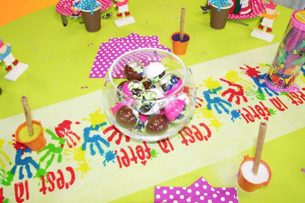 Table Rabattable Cuisine Paris Deco De Table Anniversaire Enfant