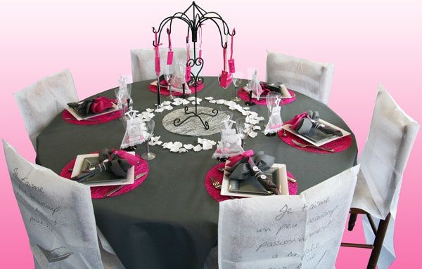 Help id es d co de table blanc gris page 2 d coration forum for Decoration chambre gris et fushia