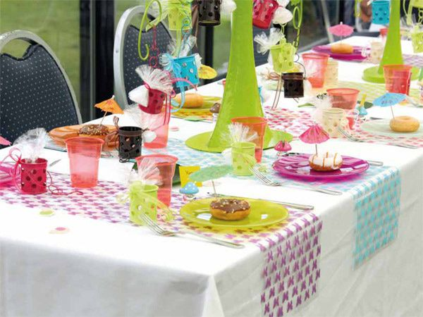 C 39 est le printemps vive la d coration de table - Decoration table printemps ...