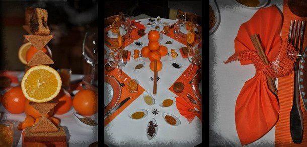 mosaique oranges et épices