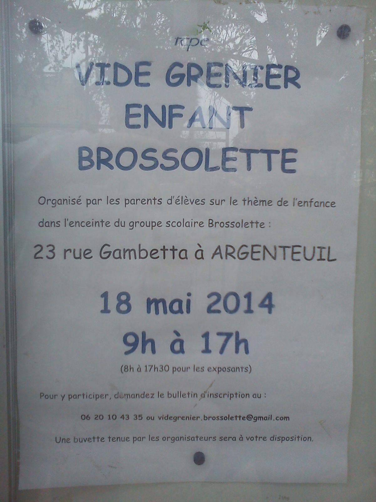 videgrenier Brossolette 2014