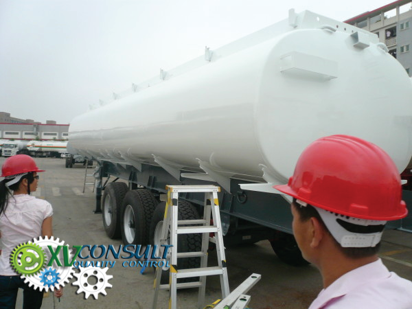 Fuel semi trailers China liters