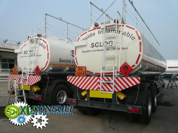 Fuel semi trailers 36000 liters China