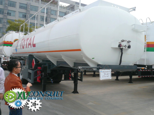 Fuel semi trailers China 30000  liters
