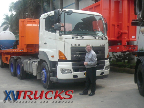 Camions Hino 6x4 export Chine Z