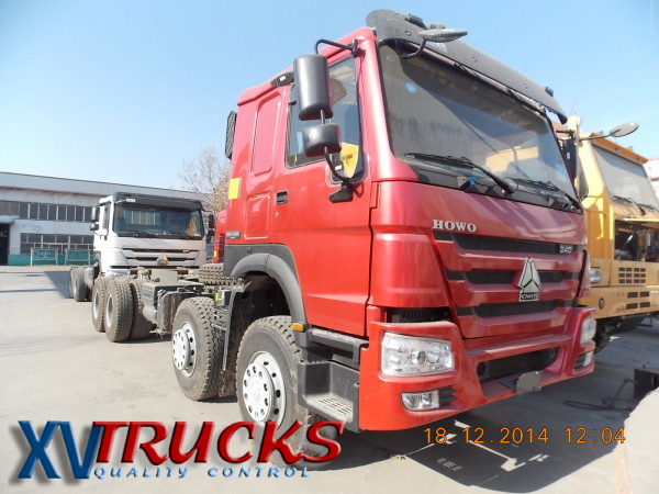 Howo 340 8x4 chassis A