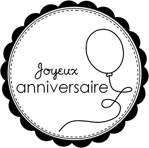 etiquette joyeux anniversaire a imprimer gratuit. Black Bedroom Furniture Sets. Home Design Ideas