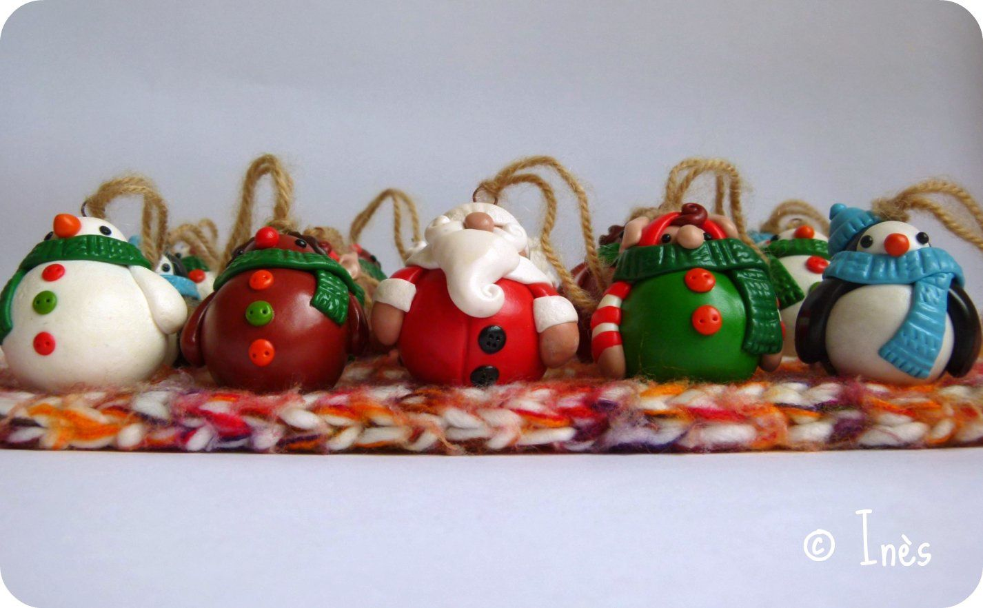 Christmas team gourmandises de no l collection no l 2012 passions cr ation passion scrap - Decoration noel pate fimo ...