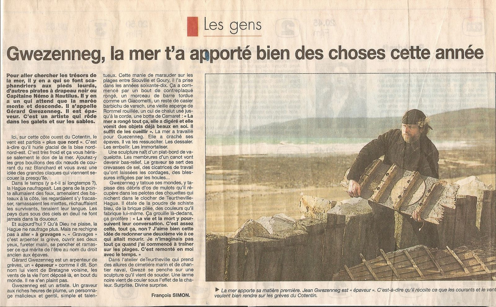 ouest france 14 mars 1995