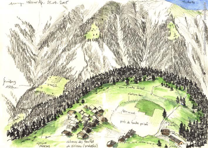 Album - Dessins de paysages