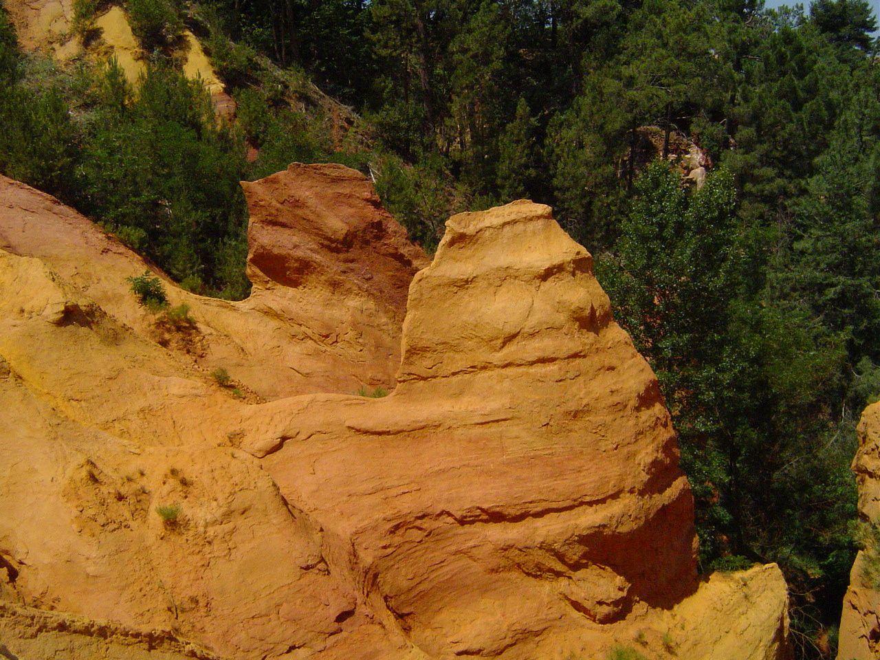 Les Ocres du Roussillon, Les Gorges de Régalon et Gordes