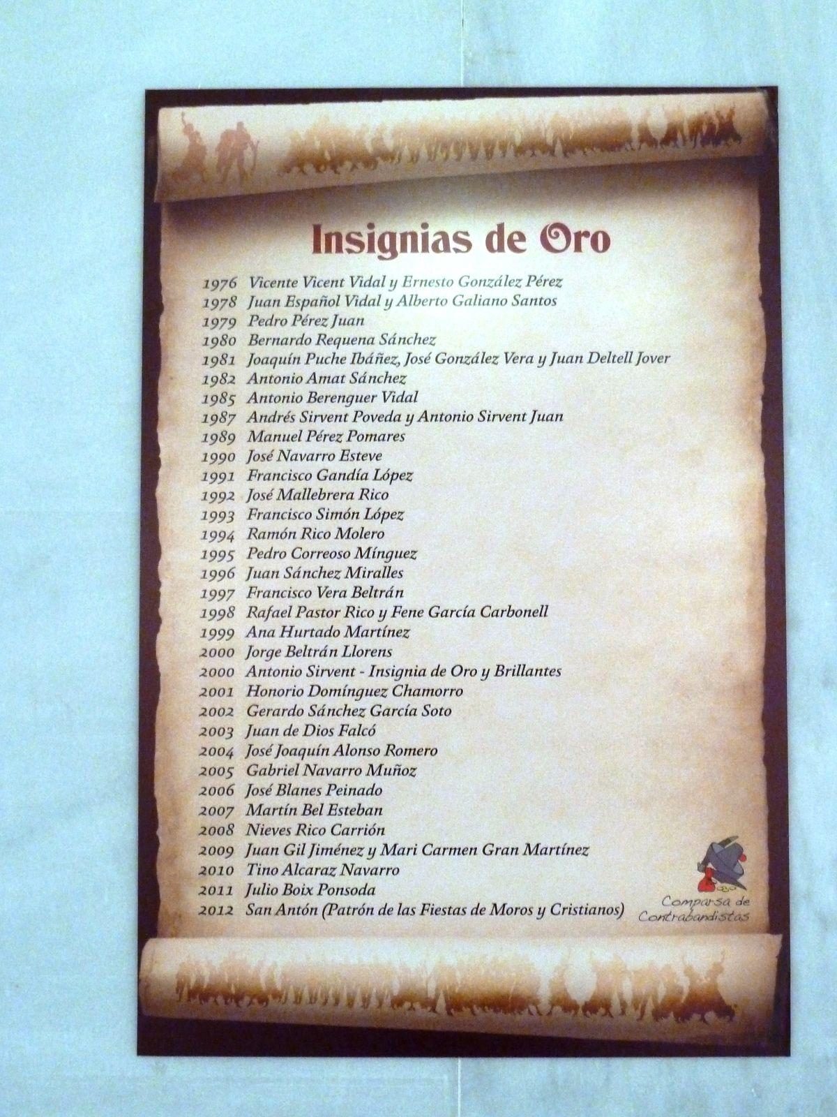 """Exposición Contrabandista """"Historia de una comparsa"""" año 2012"""