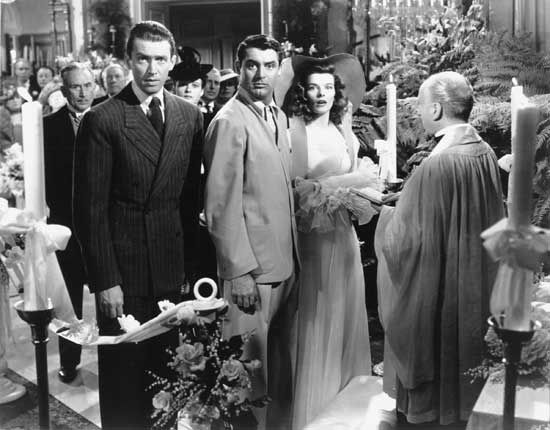 The Philadelphia Story Indiscrétions James Stewart Cary Gr