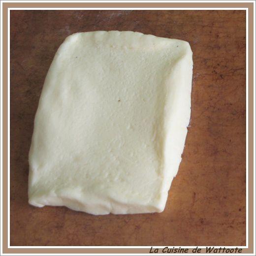 pâte feuilletée etape