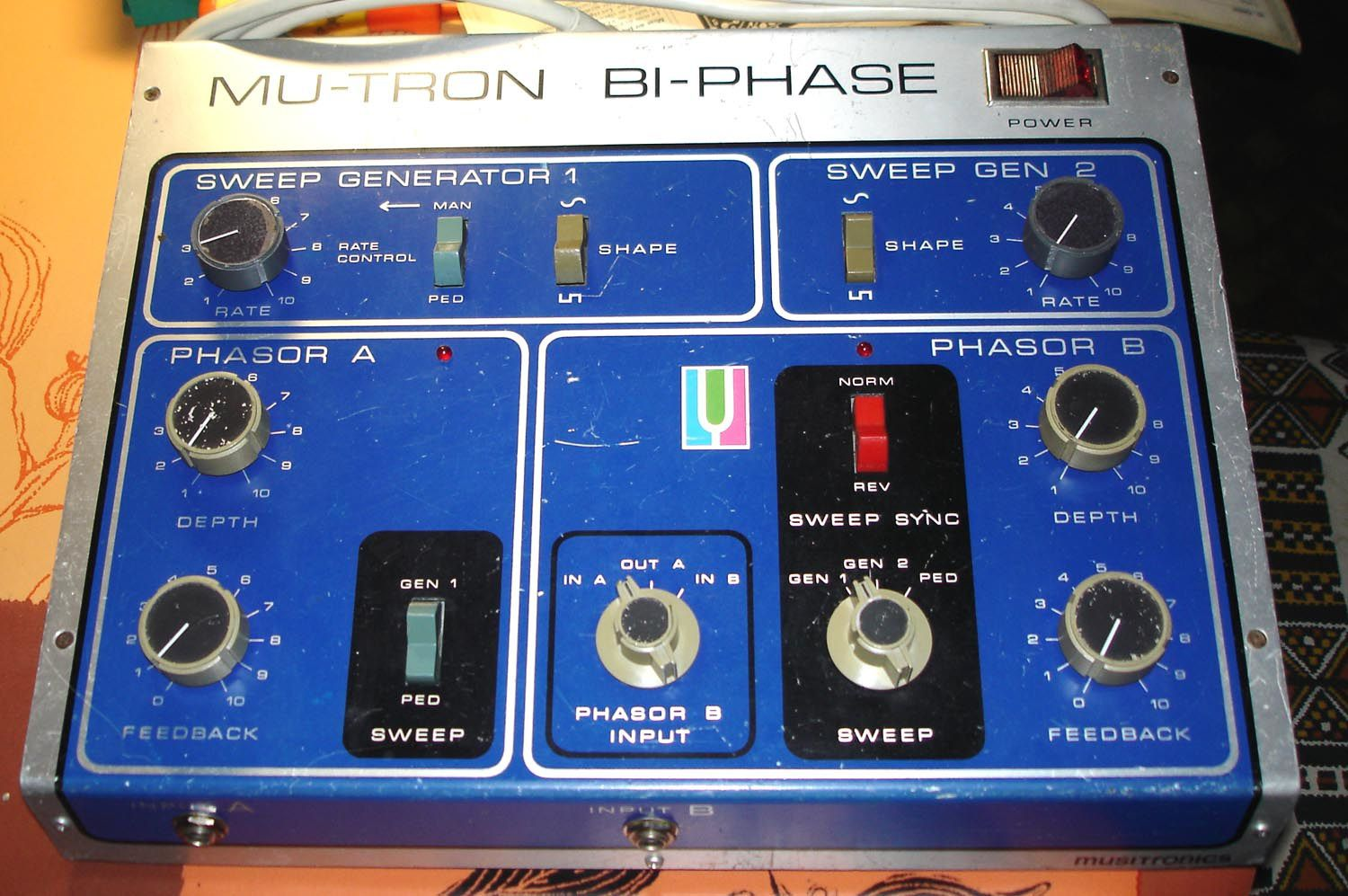 mu-tron biphase musitronic - plans et clonage