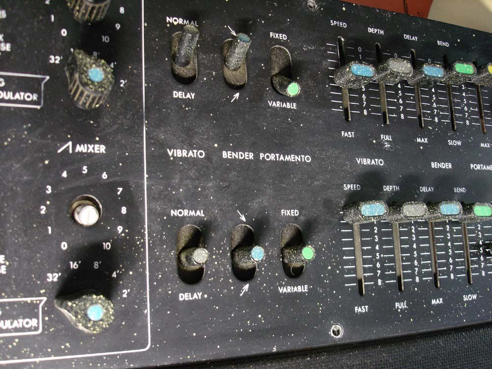 restauration korg 800dv