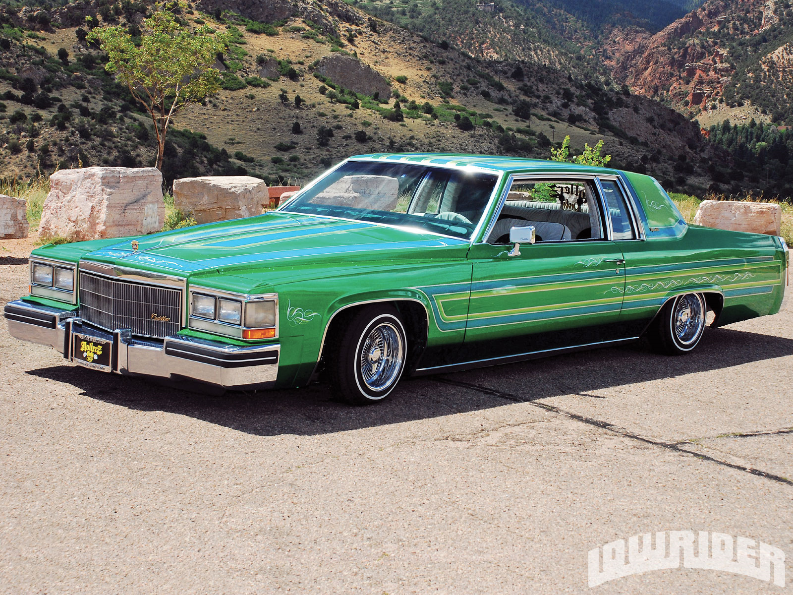 1984 Cadillac Coupe Deville Lowrider