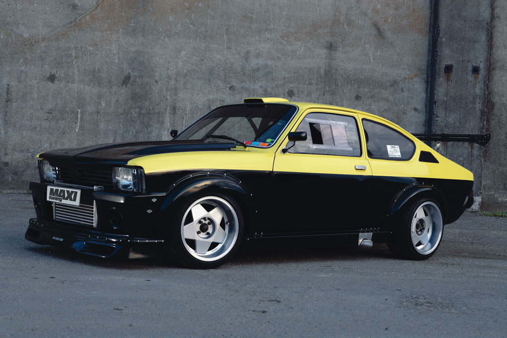 opel kadett gt e turbo una bomba tuningcar es360. Black Bedroom Furniture Sets. Home Design Ideas