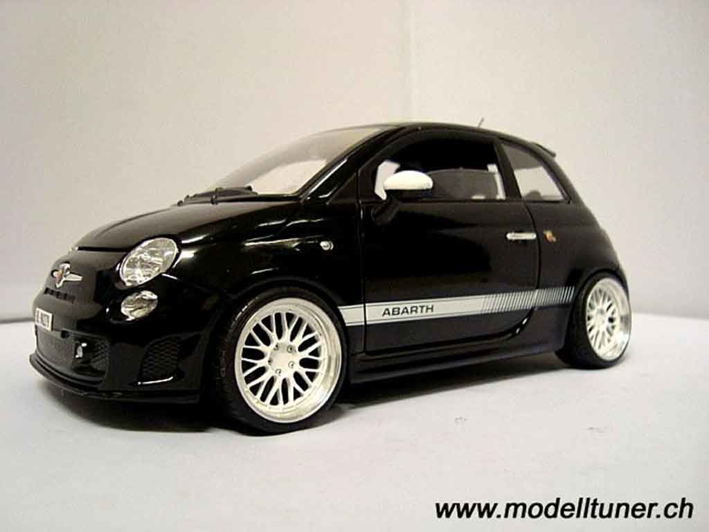 miniature fiat 500 1 18 tuningcar es360. Black Bedroom Furniture Sets. Home Design Ideas
