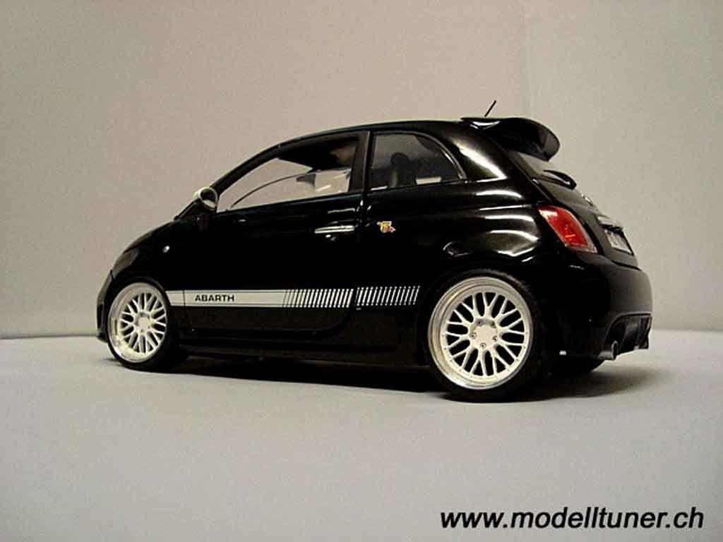 Miniature Fiat 500 1 18 Tuningcar Es360