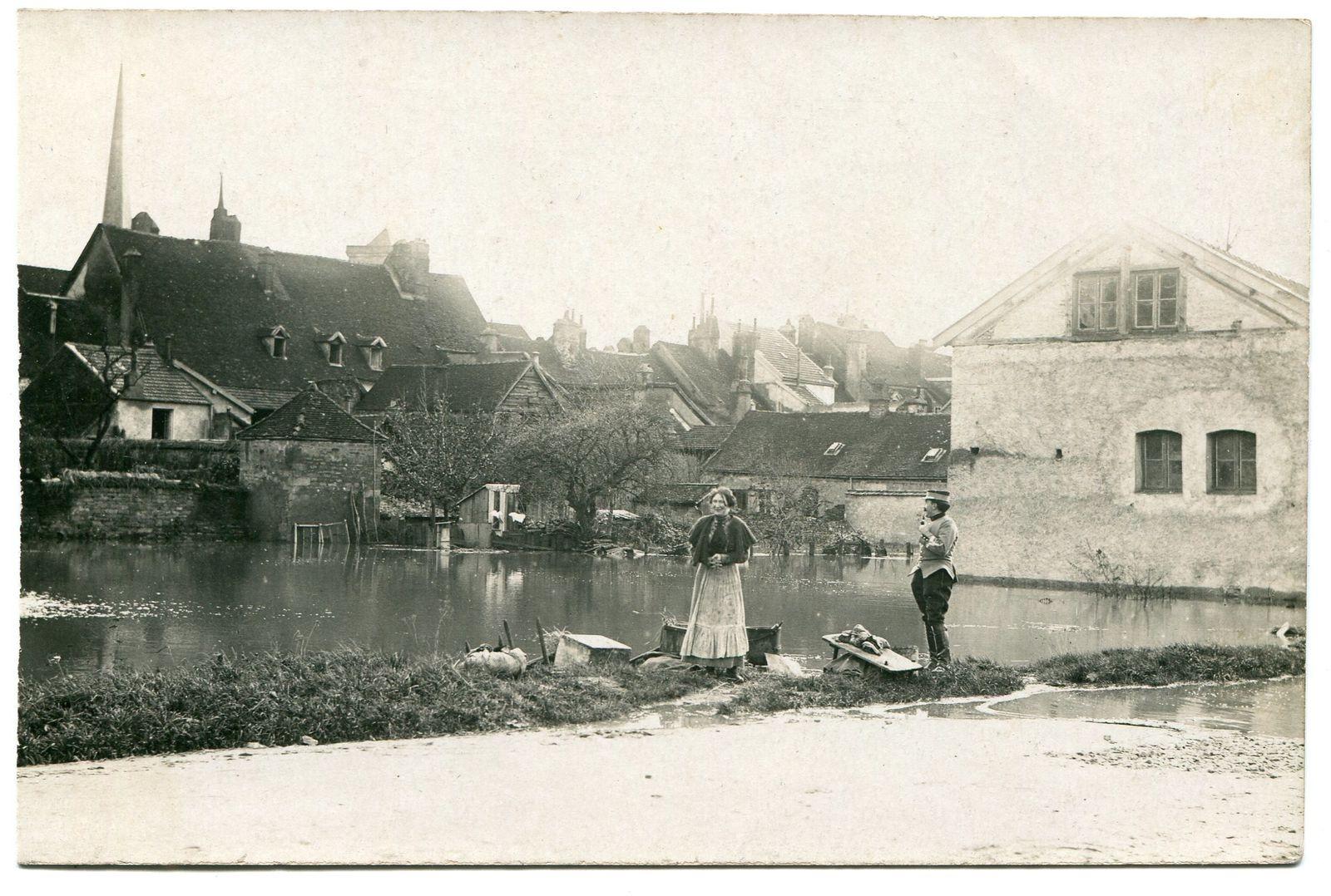 Album - La Saône en crue 1840-1935