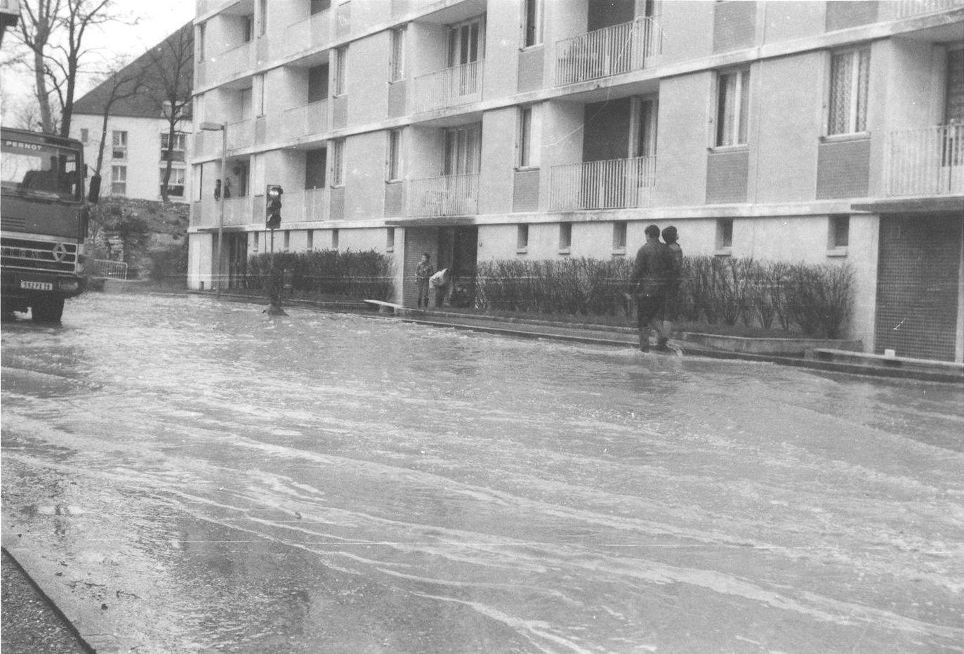 Album - La Saône en crue 1955-1983