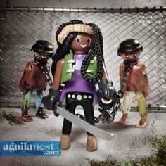 aguilanest playmobil the walking dead a