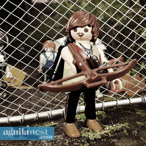aguilanest playmobil the walking dead c