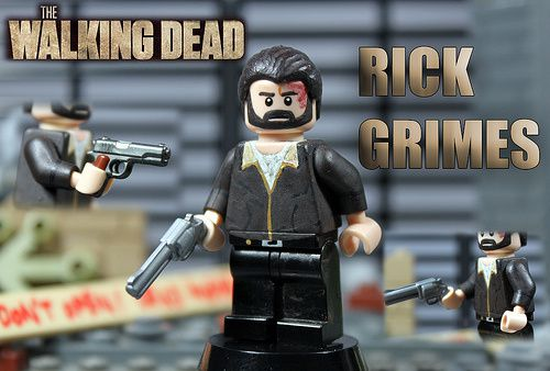 the walking dead lego d