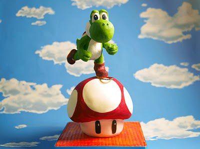 Super-Mario-Yoshi-cake