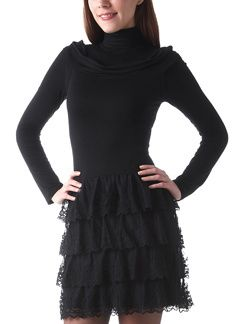 robe-a-volants-en-dentelle-noir-114486-photo