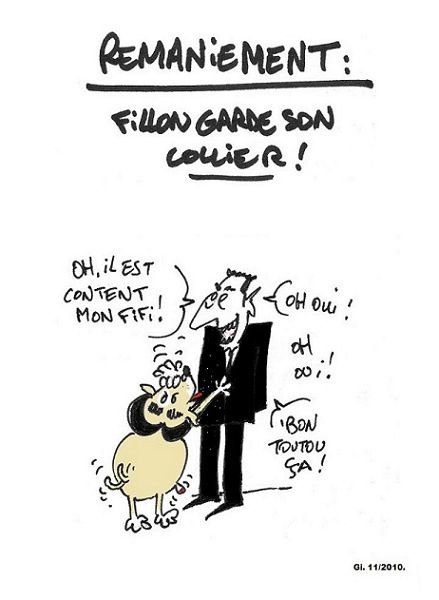 Remaniement sarko fillon