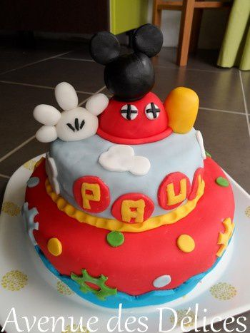 Gateau mickey thermomix