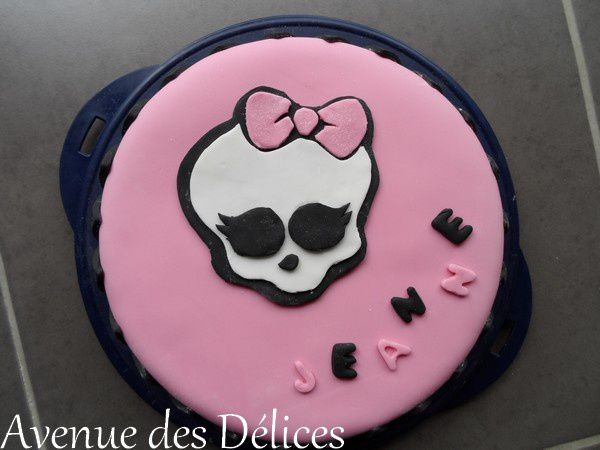 Gateau monster high recette facile