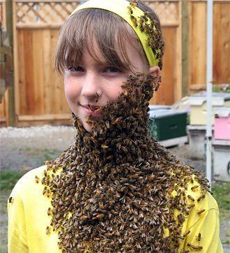 Crazy People Who Clothe Themselves In Bees For Hoots! 3