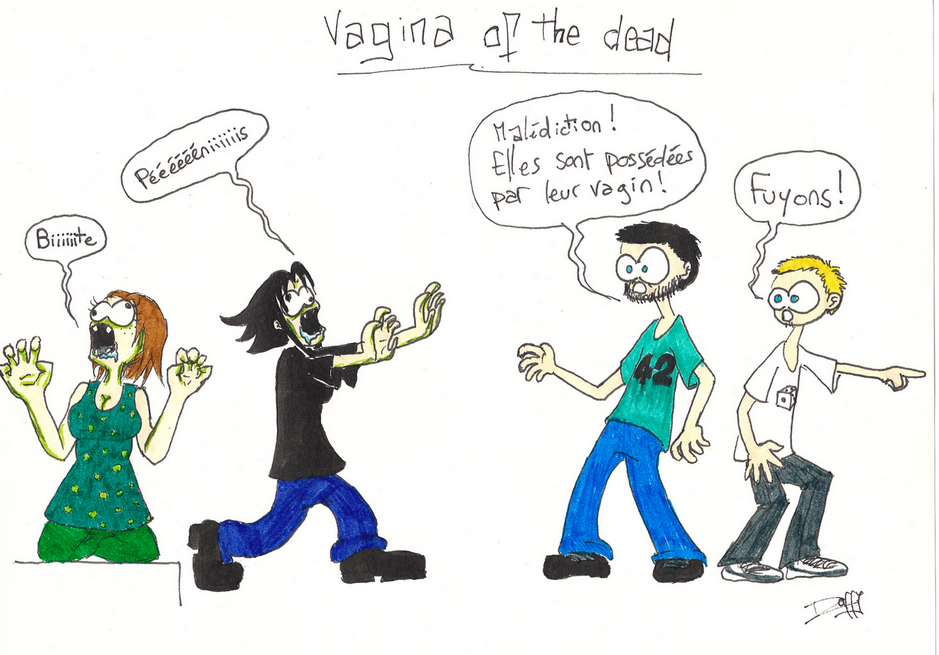 Vagina of the dead
