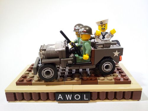 project azazel jeep lego