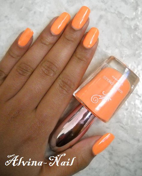 Souvent Orange fluorescent - Alvina-Nail-Art UC15
