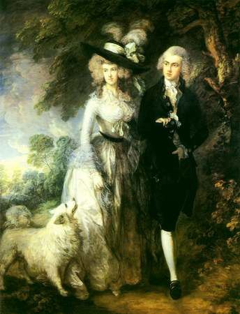 Mr and Mrs Hallet Thomas Gainsborough