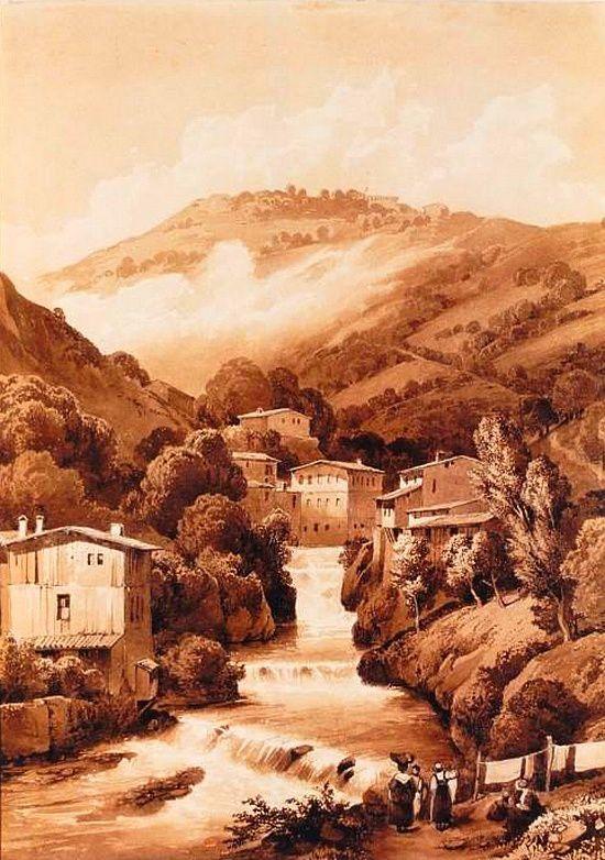 Les cascades de Thiers d'Alexis Victor Joly