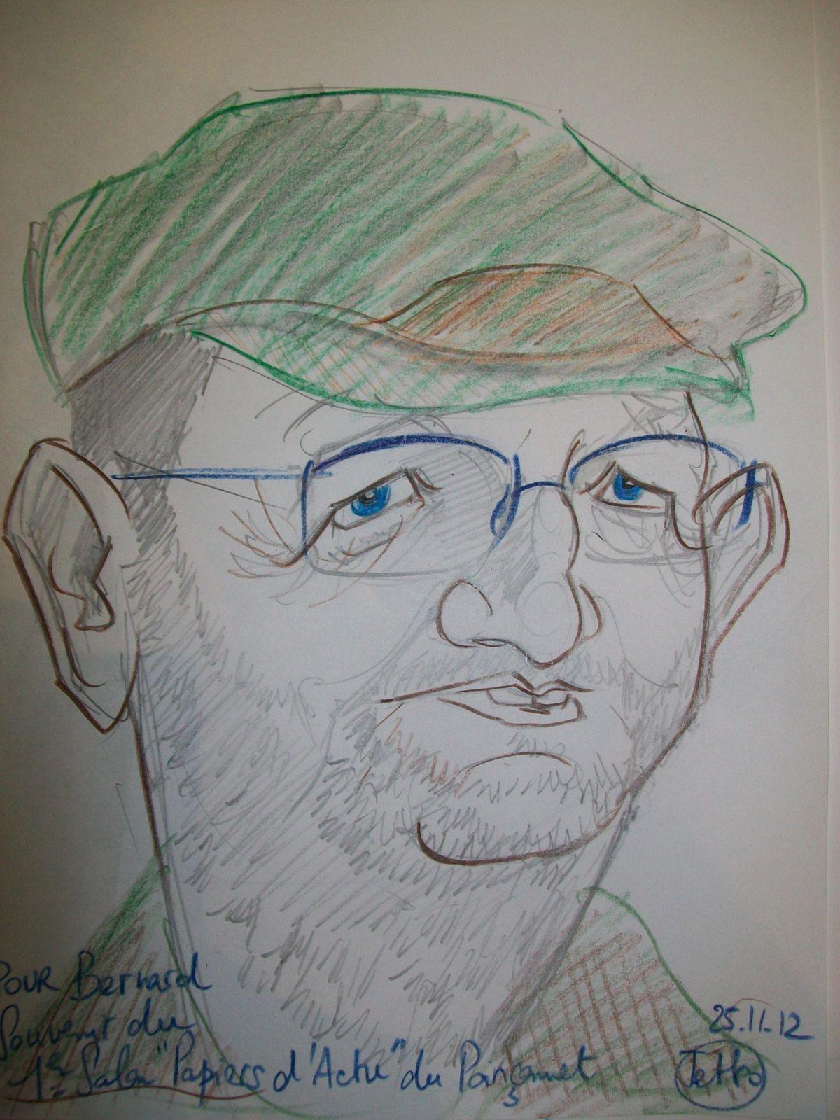 Caricature Bernard