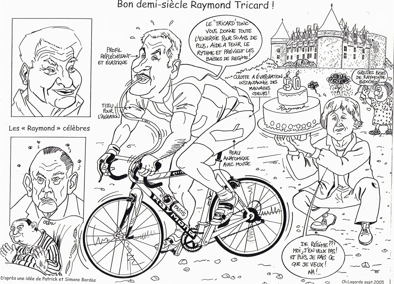 50 ans Raymond Tricard