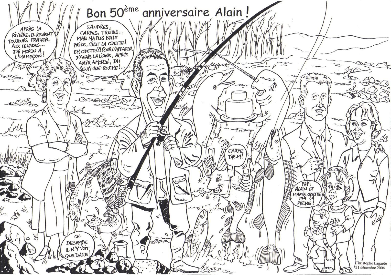 Anniversaire 50 ans Alain